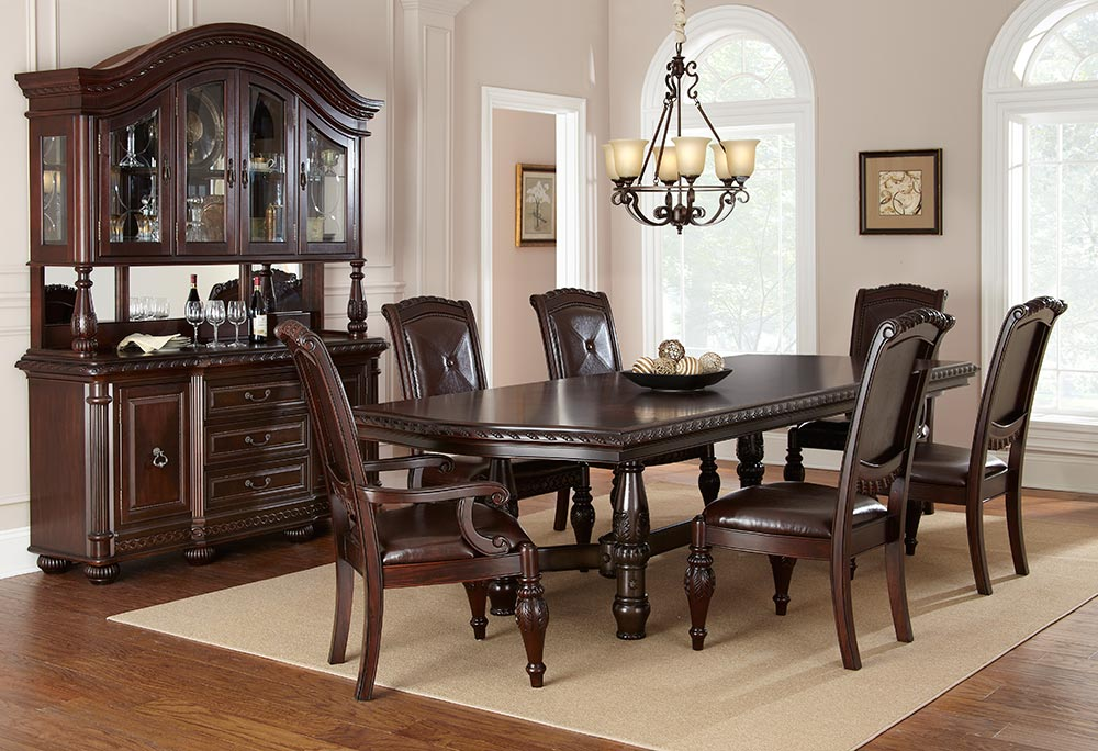 Rockford Furniture Company Dining Room Set Ashley Rect Drm Table Set 5cn D258225 Versailles